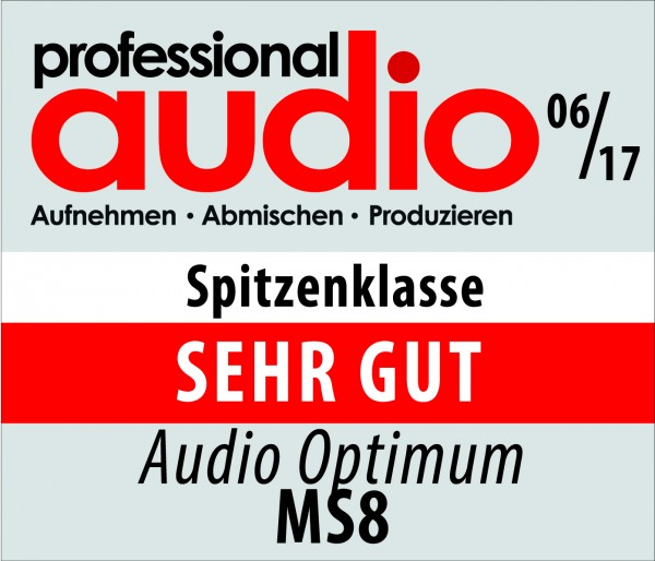 PAM-Testsiegel-Audio-Optimum-MS8